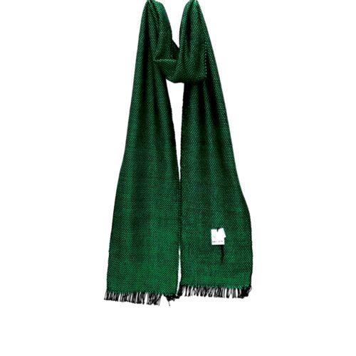 Ročno tkan bombažni šal